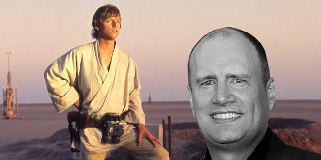 Marvel Studios President Kevin Feige is a huge Star Wars fan.