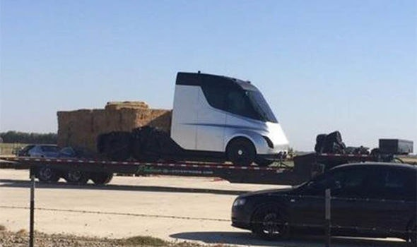 the tesla semi truck is flexing so hard on elon musk s instagram rh inverse com