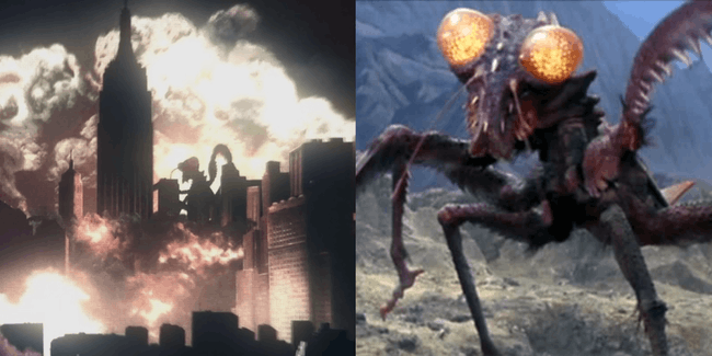 Kamacuras in 'Godzilla: Monster Planet'