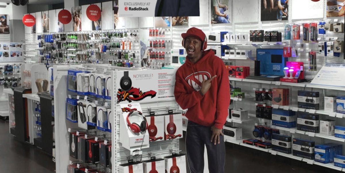 """Nick Cannon insisted as of 2016 that Radio Shack is """"cool."""""""