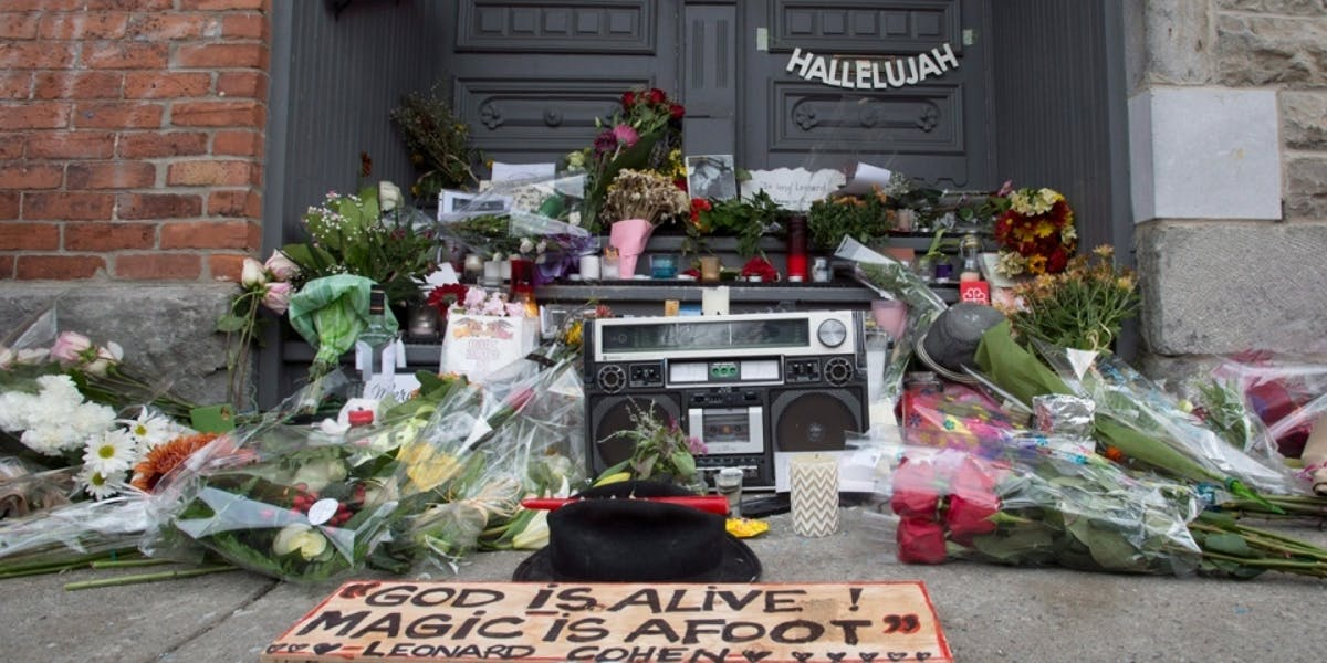 People across the world mourned Leonard Cohen.