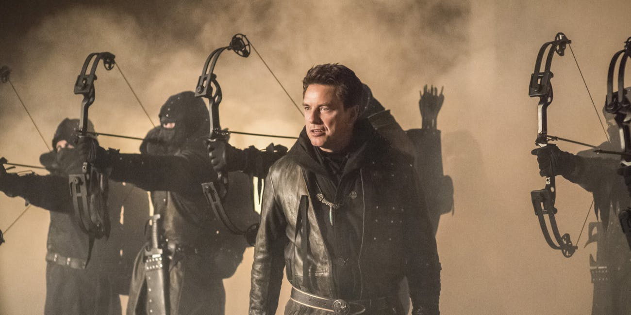 John Barrowman Arrow Dark Archer