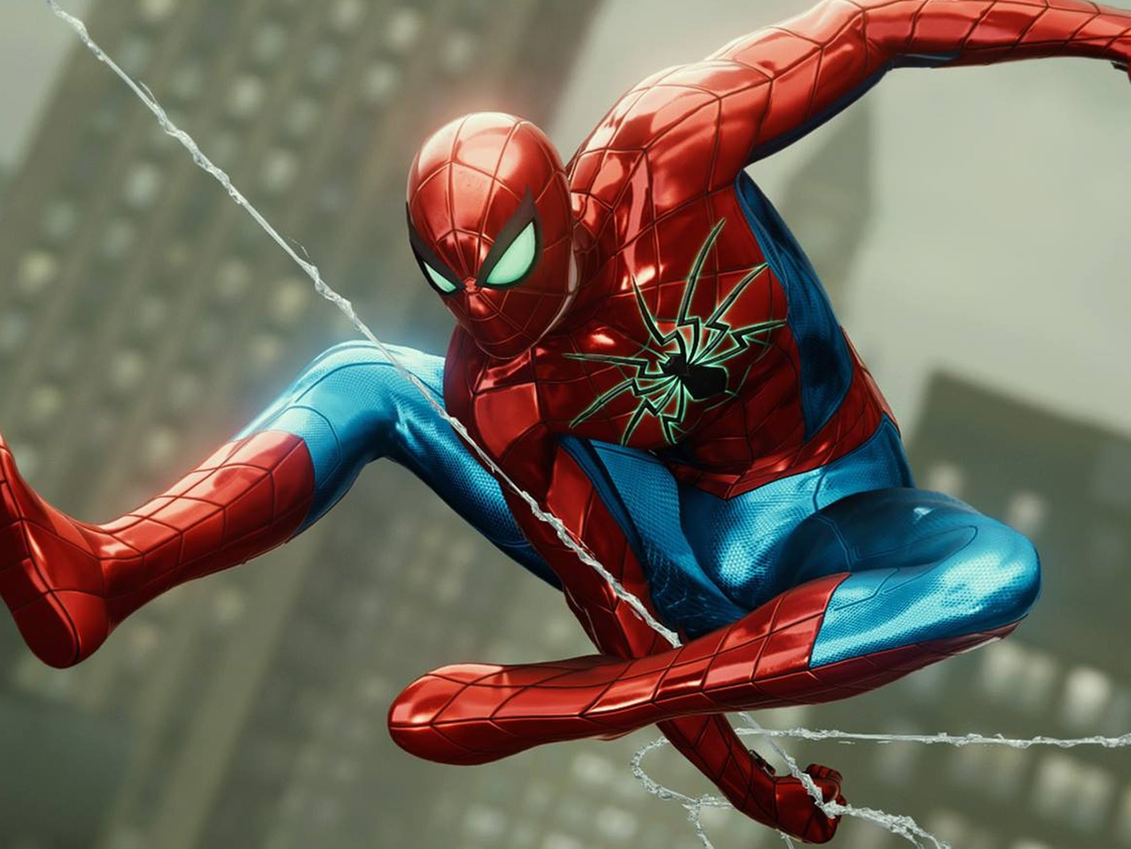 Spider-Man PS4 MK IV Armor