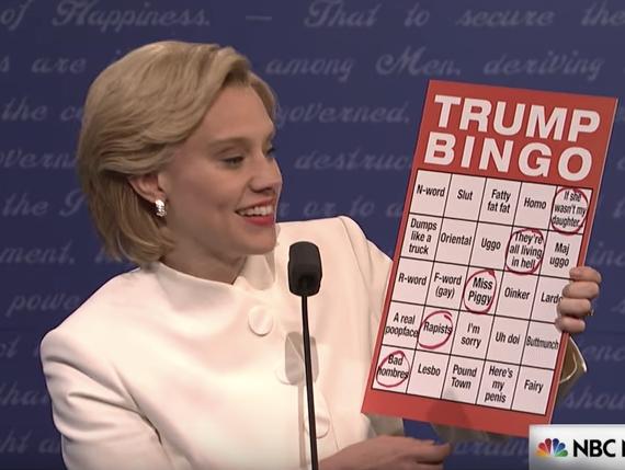 'SNL' Pulls Zero Punches in Final Debate Sketch