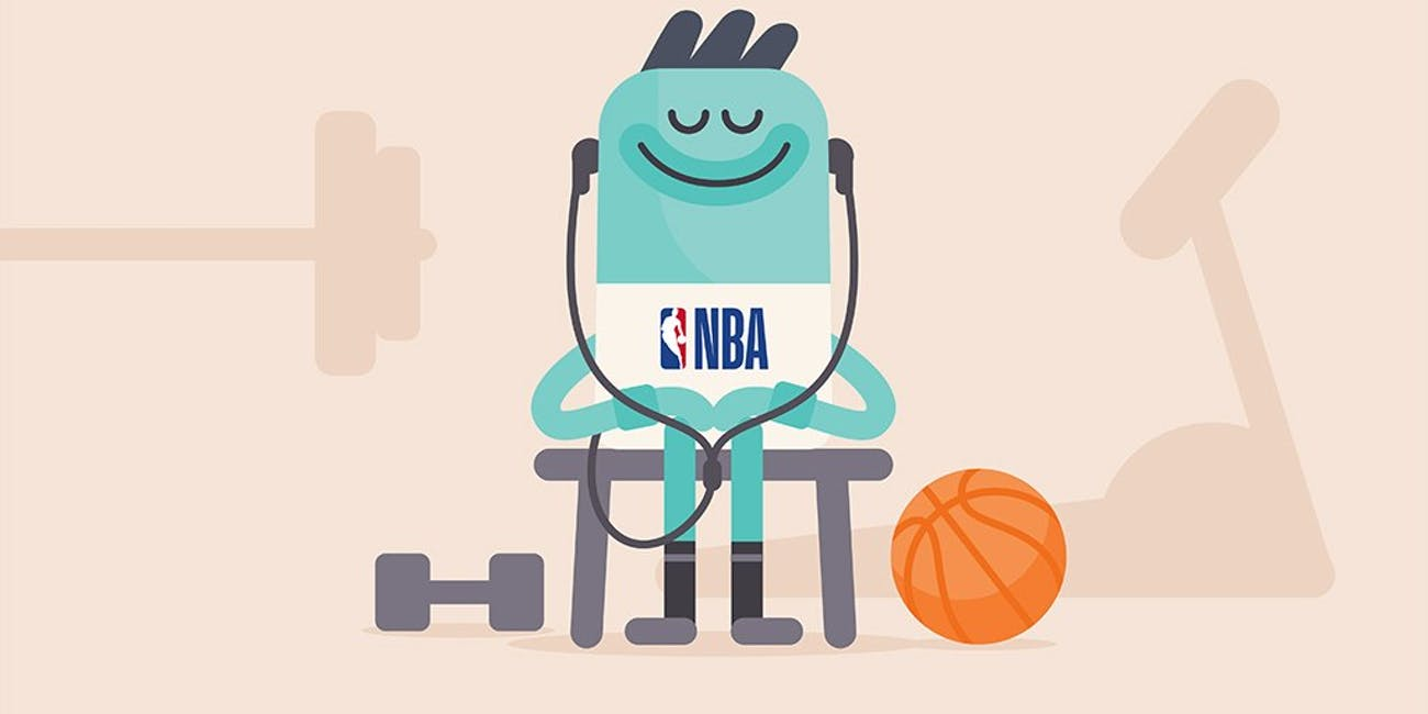 meditation, NBA, headpsace