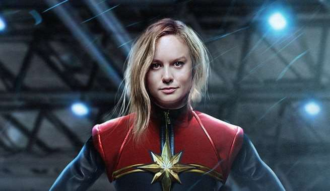 Fan art of Larson as Danvers has been circulating for months.