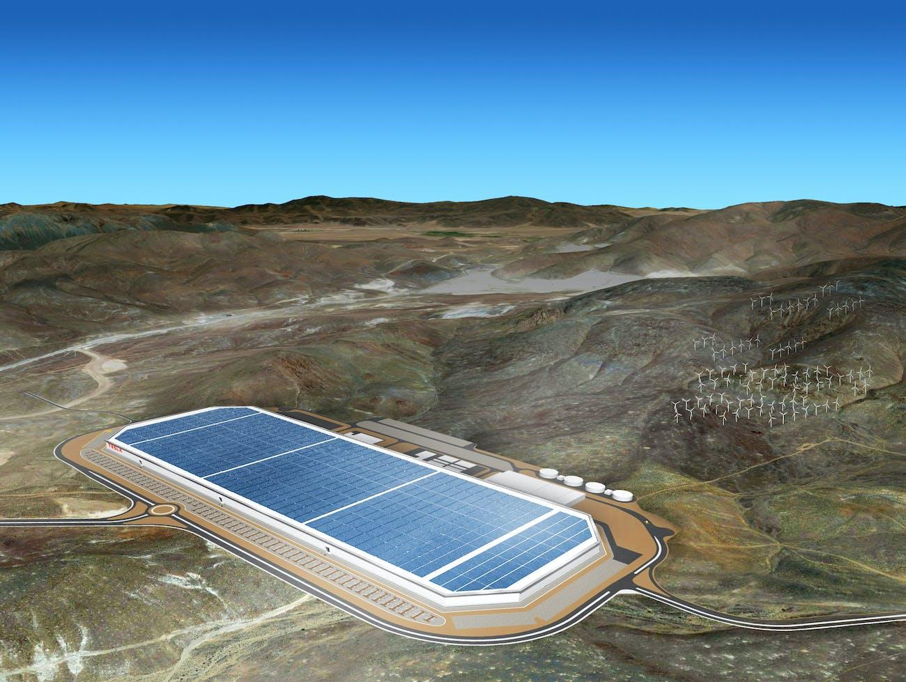 The Tesla Motors Gigafactory