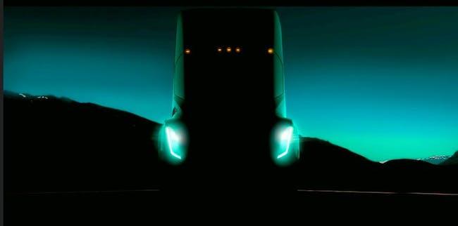 Tesla Semi truck.