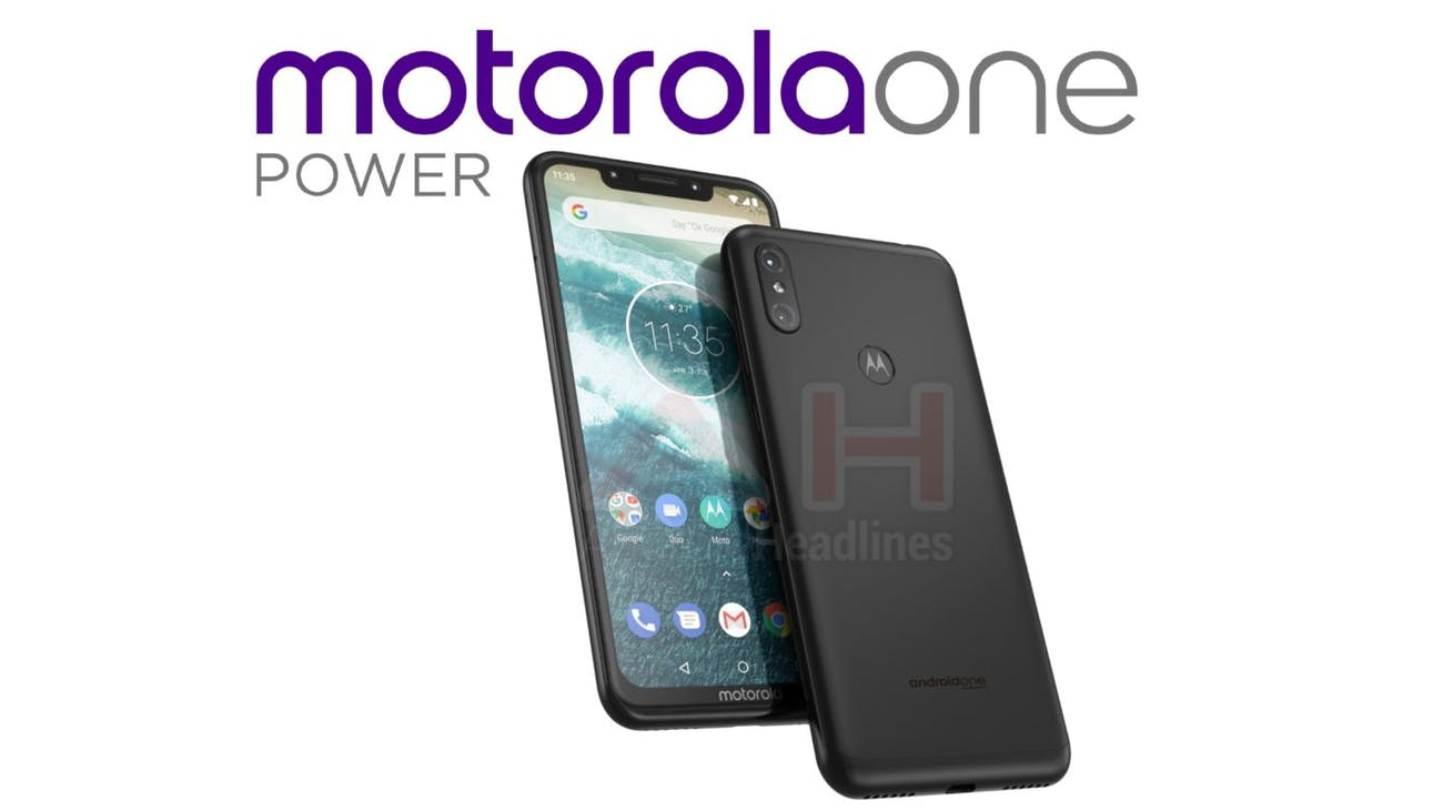 motorola one power smartphone