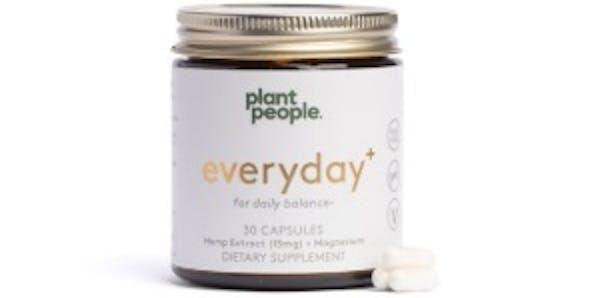 Plant People Everyday CBD Capsules - 450mg