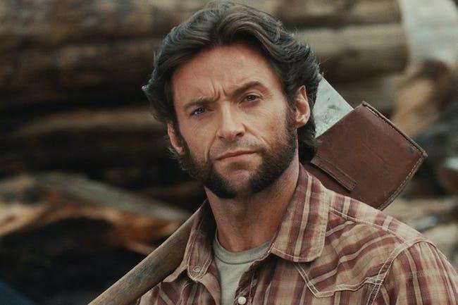 Hugh Jackman as Wolverine.