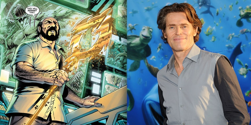 William Dafoe's Vulko will show up in 'Justice League' before 'Aquaman.'