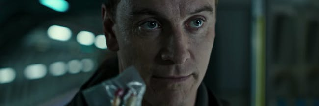 Fassbender Walter character in Alien: Covenant