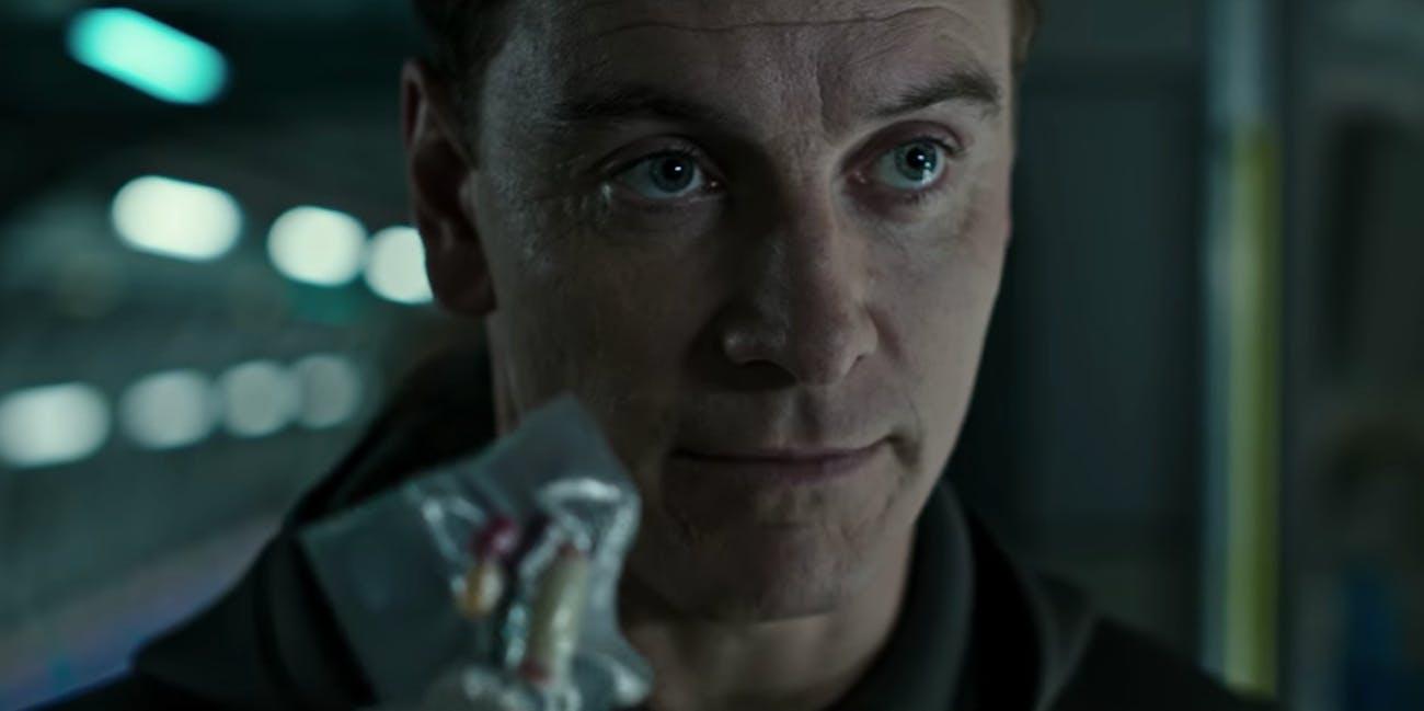 Fassbender Walter character in Alien: Covenant