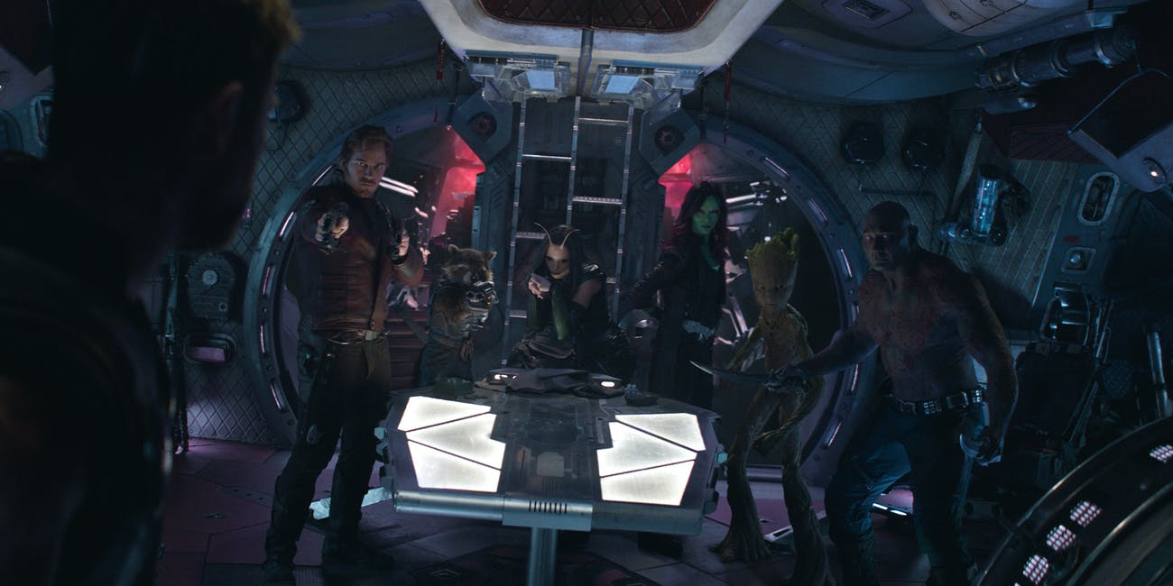Thor Guardians of the Galaxy Infinity War