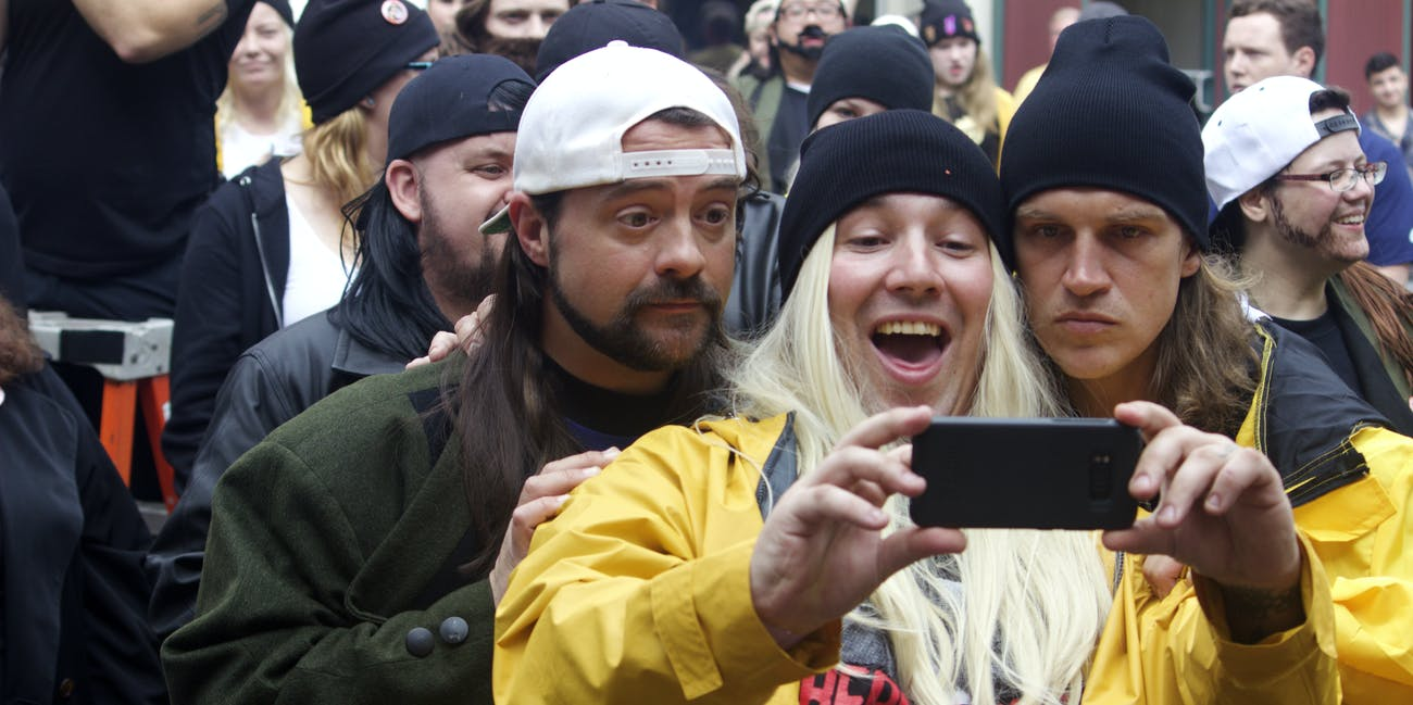 Kevin Smith World record Jay and Silent Bob