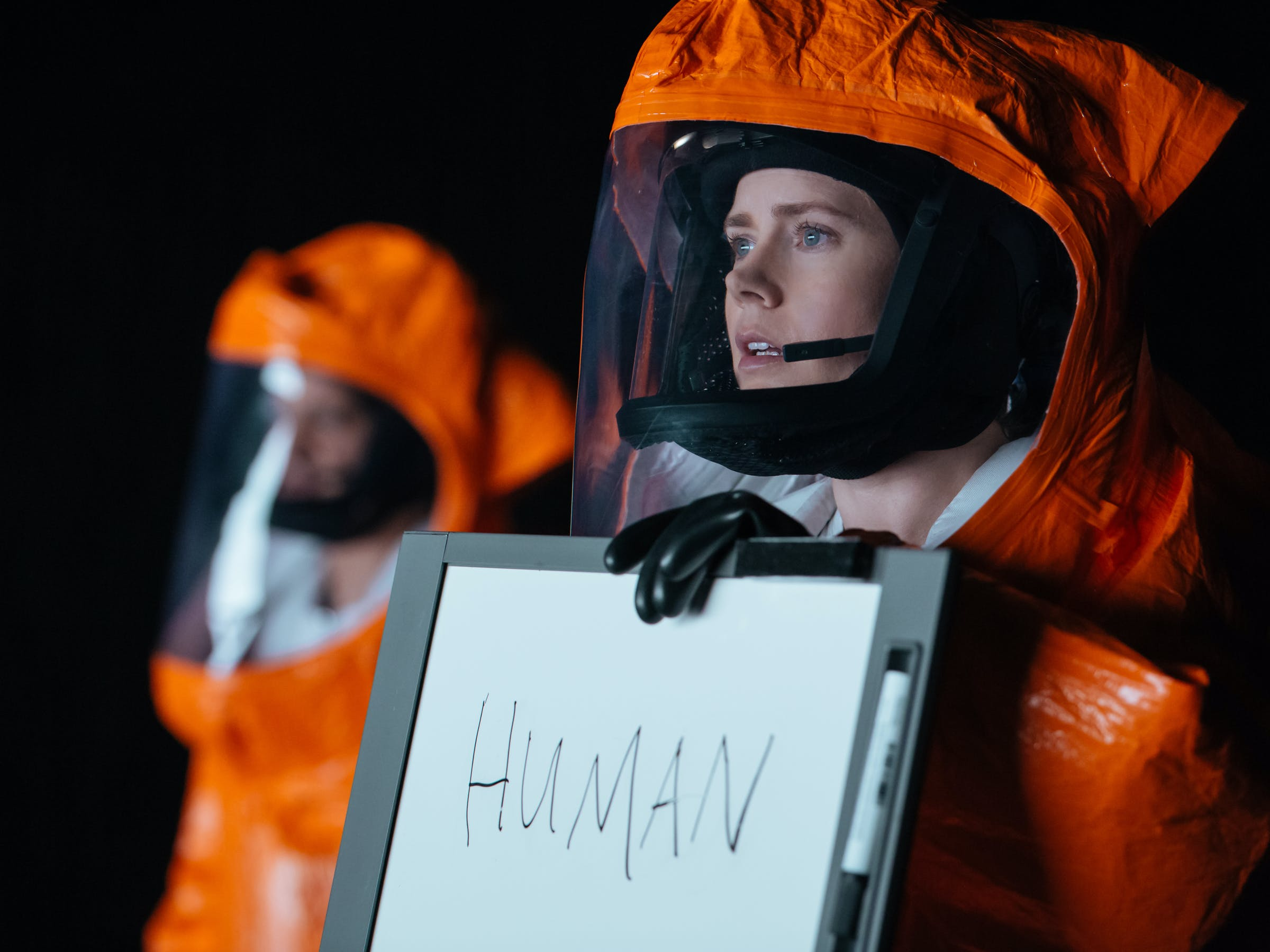 arrival amy adams linguist alien language