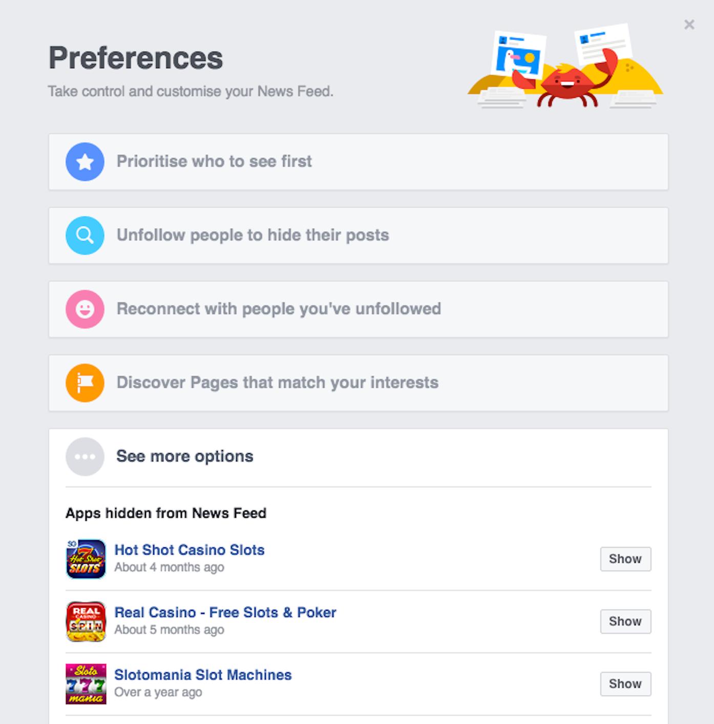 Habit and Uncertainty Collide on Facebook