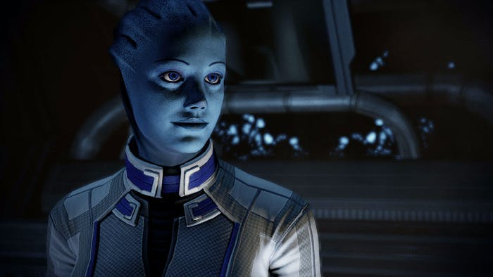 Liara is one of the most beloved – and powerful – characters, who was in each game in the original trilogy.