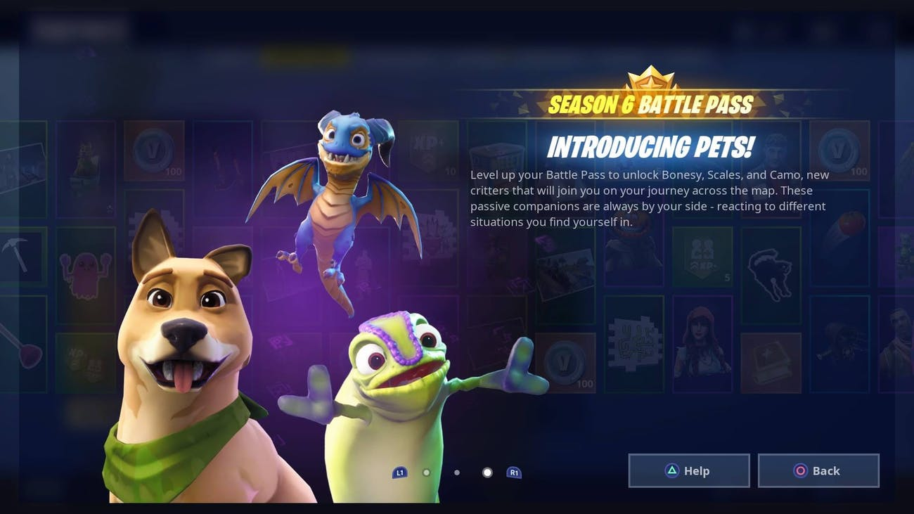 fortnite season 6 battle pass