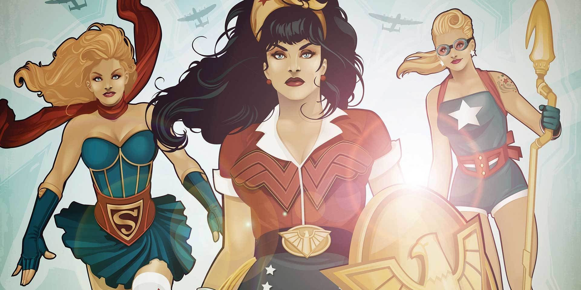 'DC Bombshells' Expands, Introduces 'Suicide Squad''s Katana Alongside Harley Quinn