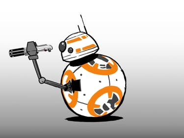 Here's BB-8 Dangerously Swinging a Lightsaber for Star Wars Day