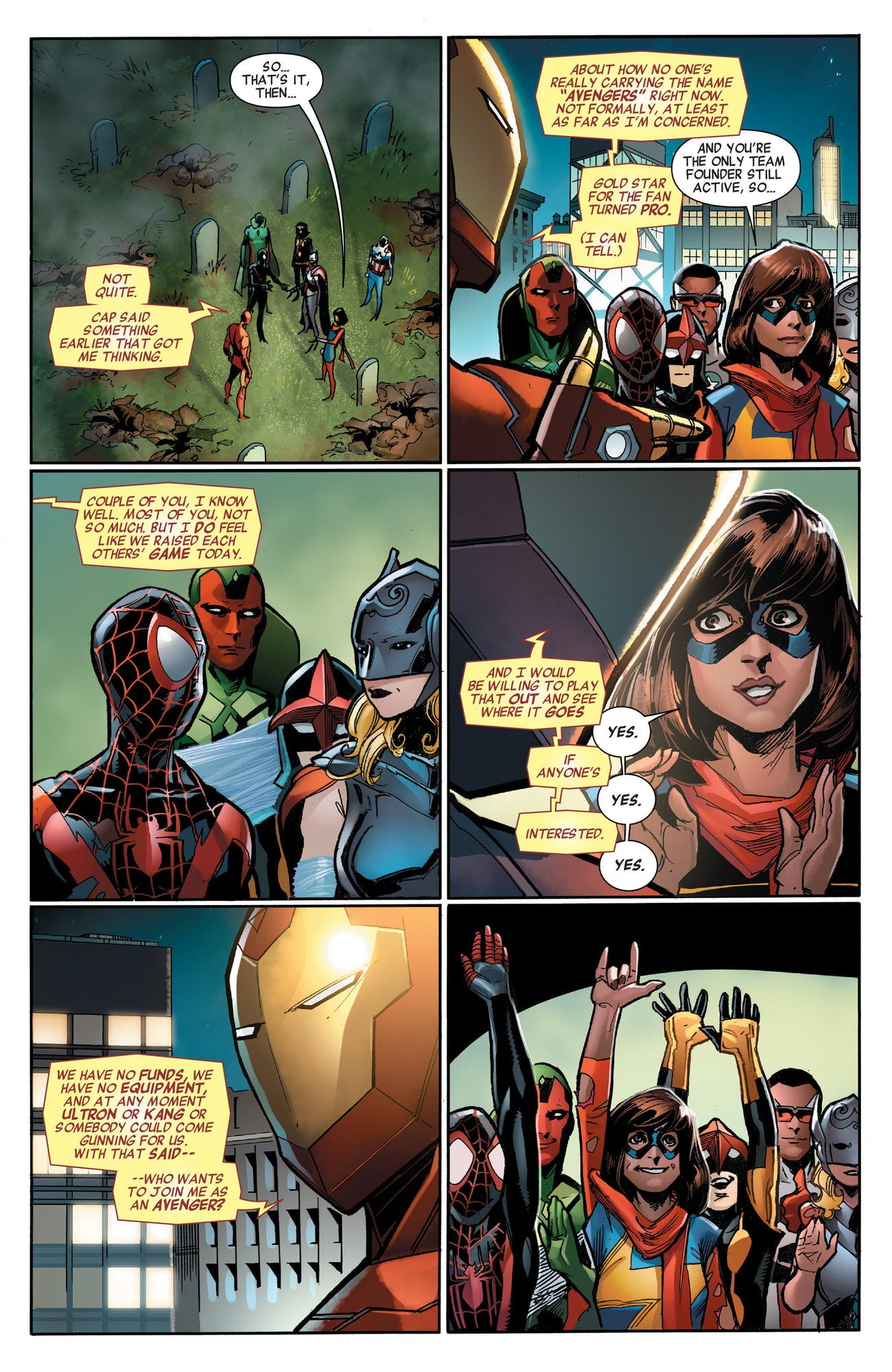 All New All Different Marvel Avengers Ms. Marvel