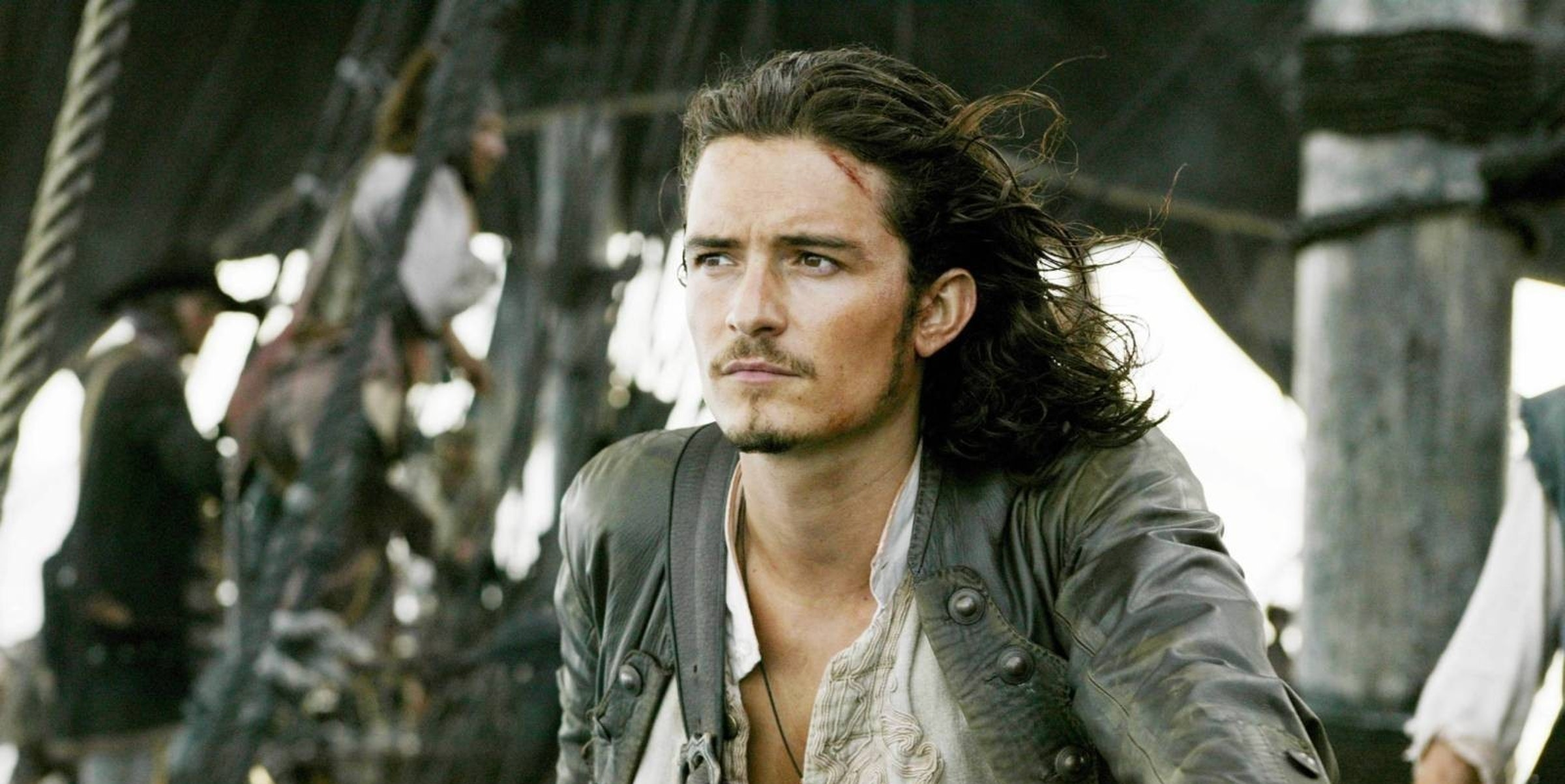 Pirates of the Caribbean: Dead Men Tell No Tales Will Turner Returns Orlando Bloom Super Bowl Trailer