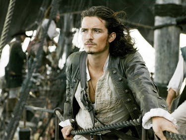Is That Orlando Bloom in the 'Pirates 5' Super Bowl Trailer?