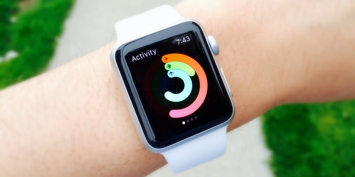 fitness watch activity tracking