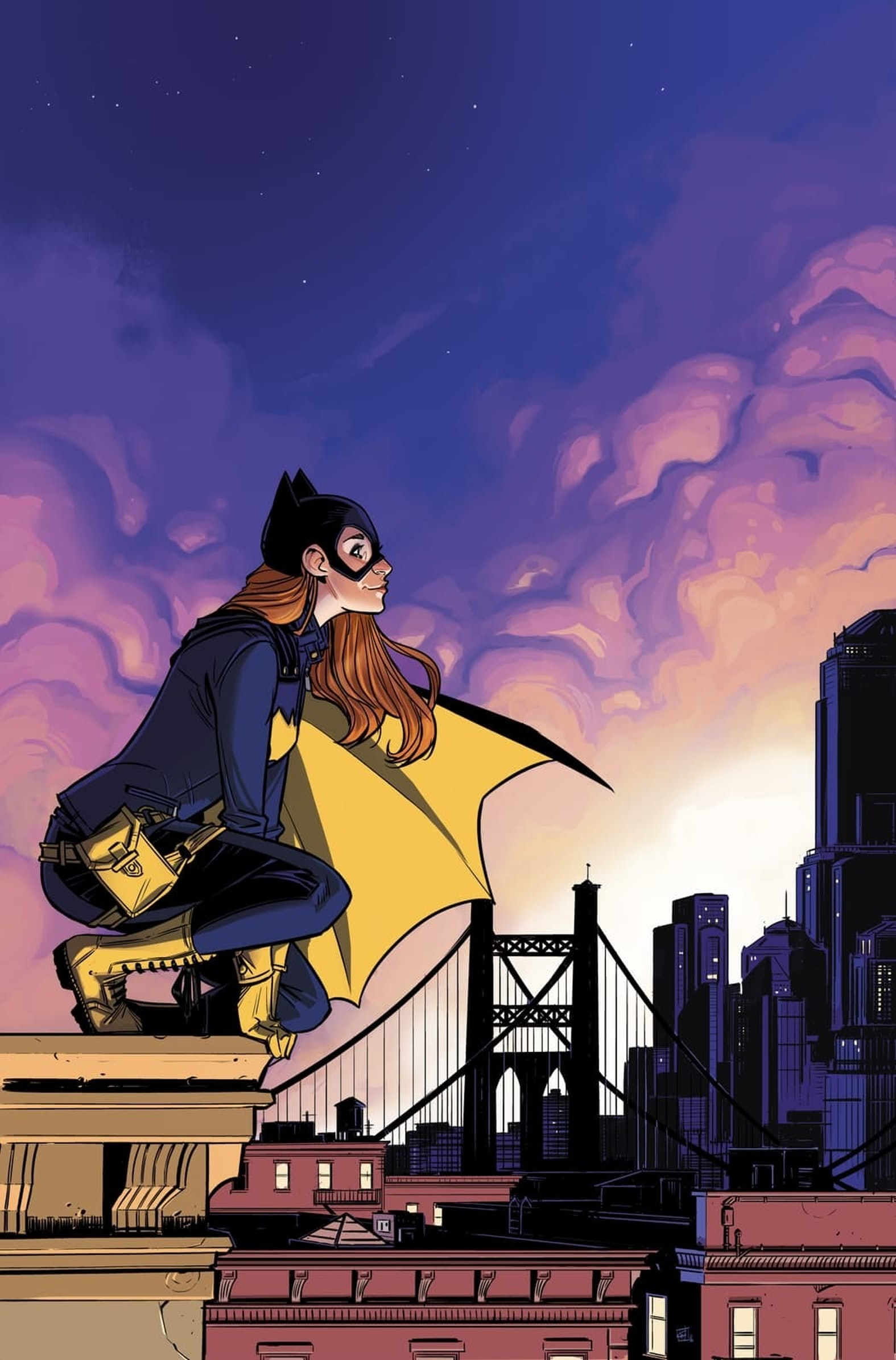 DC Comics Batgirl from Gotham Academy artist Christian Wildgoose