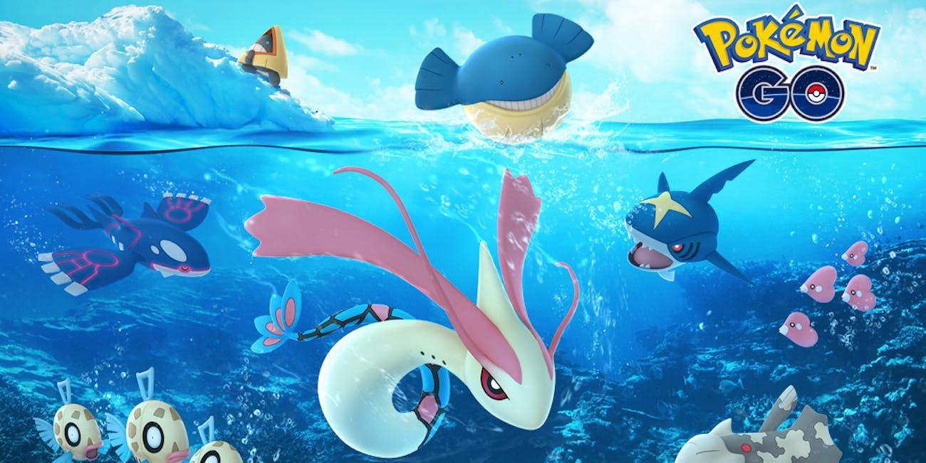 This year's 'Pokémon GO' holiday looks pretty aquatic.
