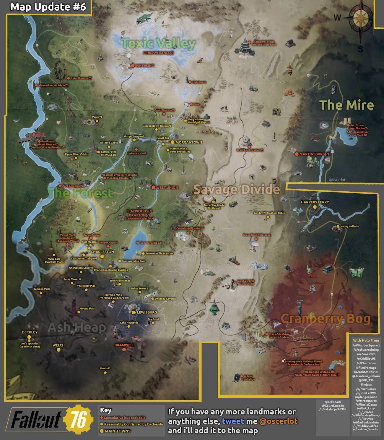 fallout 76 fan map