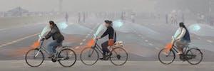 Studio Roosegaarde smog-busting bicycle