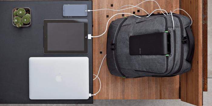 Smart Backpack Charging Devices