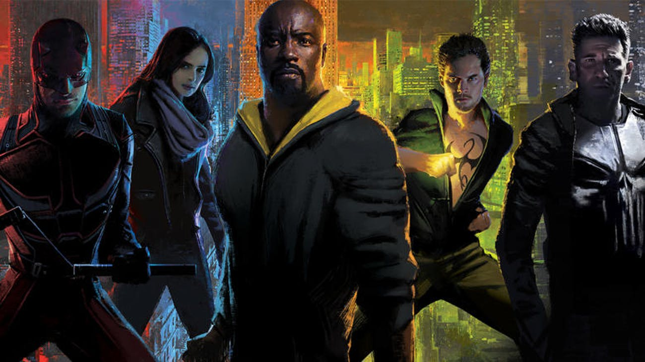 Marvel TV Defenders Punisher