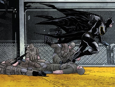 Tom King Says Self-Harm Is Consistent With Batman's Character