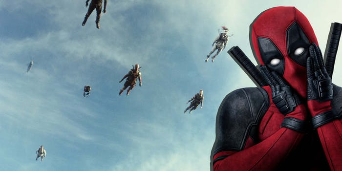 Deadpool 2 brad pitt cameo