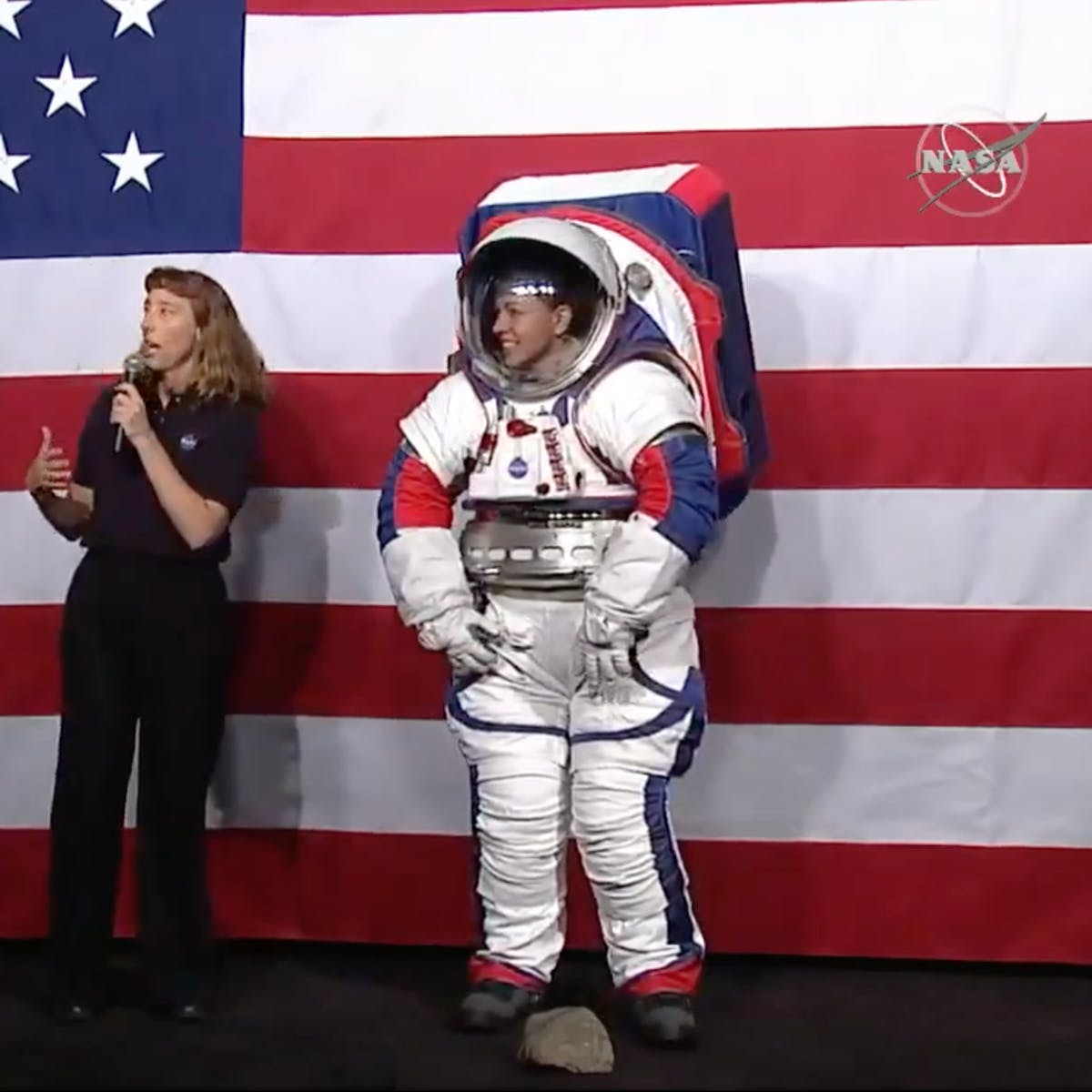 New spacesuit, new me: NASA unveils new fit to match new vision of the moon