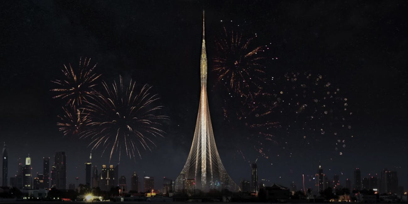 They Say Theyre Building Worlds Tallest >> Meet The Tower Dubai S 3 000 Foot Future Tallest Building In The