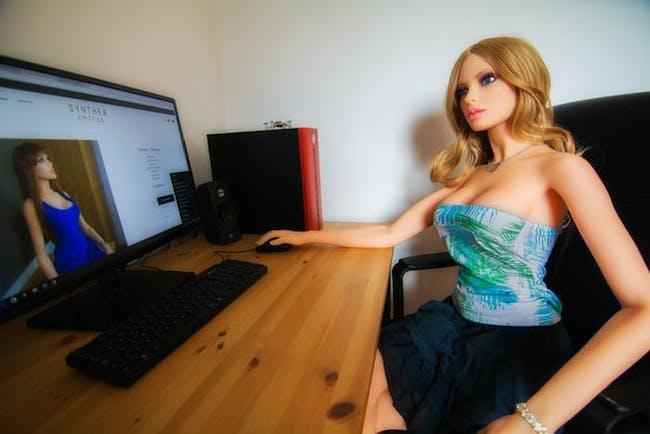 Sex robot Samantha.