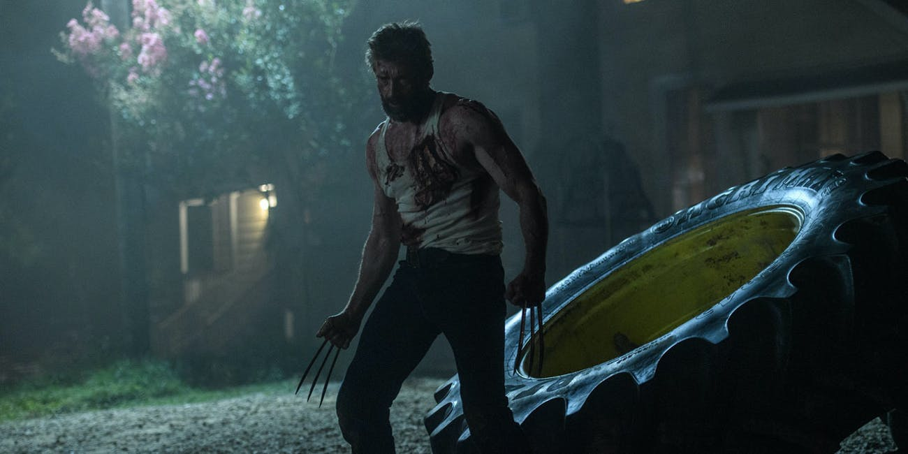 Hugh Jackman as Wolverine in 20th Century Fox's 'Logan'