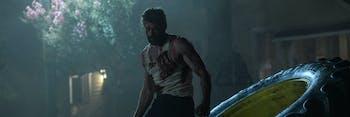 Hugh Jackman as Wolverine in 20th Century Fox's 'Logan'