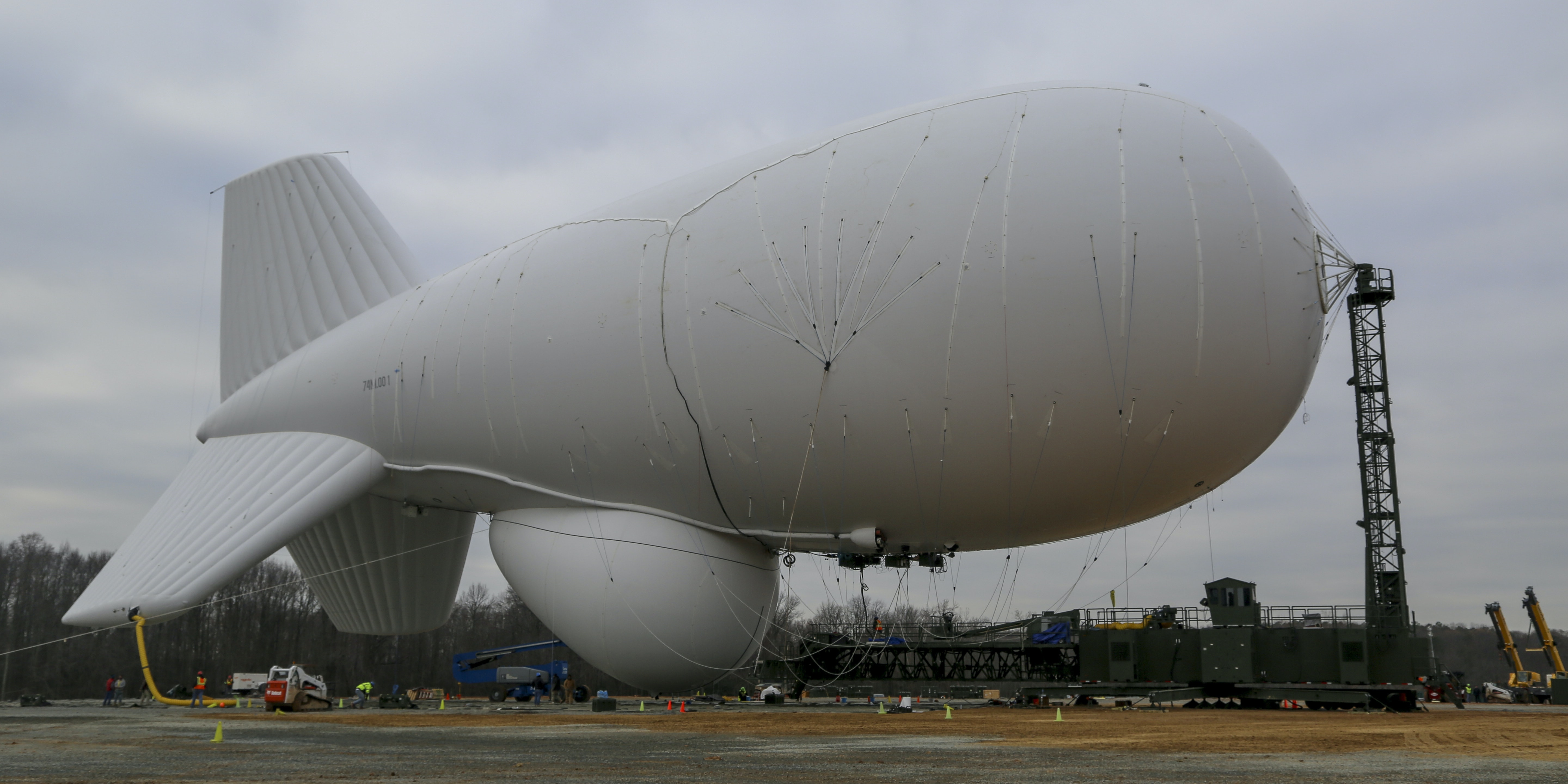 The Pentagon Wants to Repair its Runaway Missile Defense Blimp