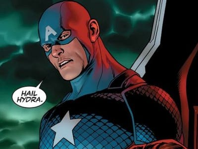 The History of Hitler and the Nazis, Captain America's New Buddies, In Comic Books