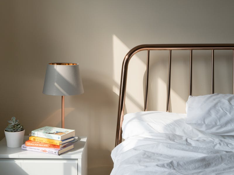 a nice bedroom