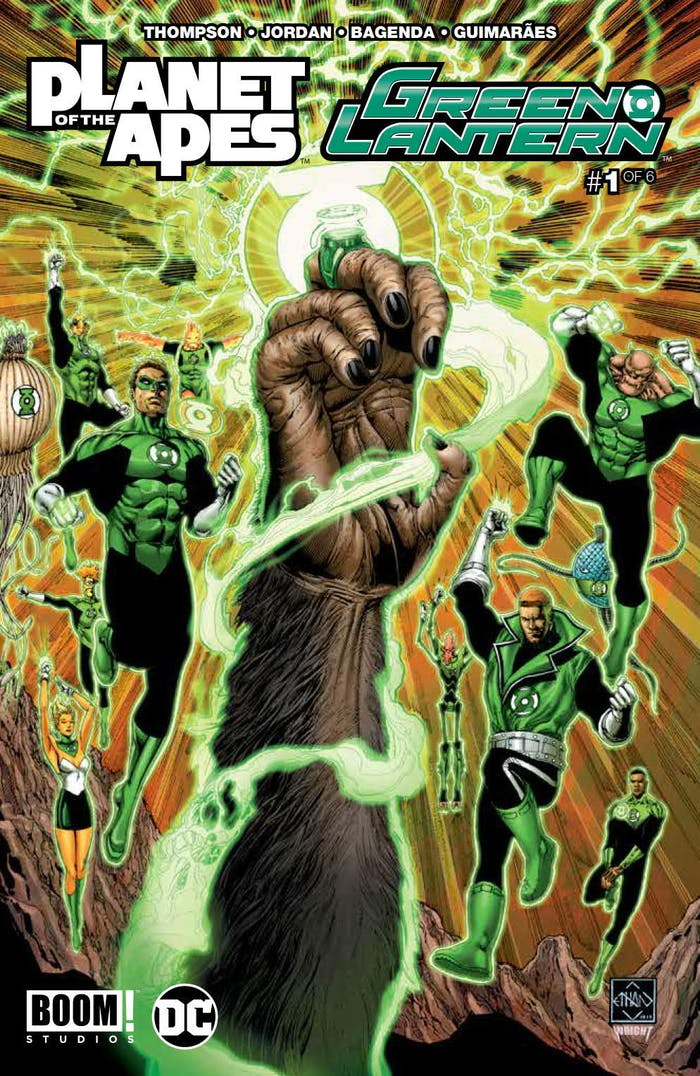Planet of the Apes Green Lantern