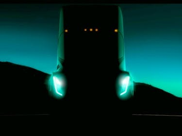 "The Tesla Semi Truck Rides ""Like a Sports Car,"" Says Elon Musk"