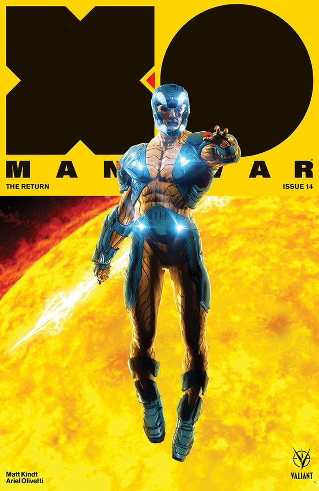 Valiant X-O Manowar