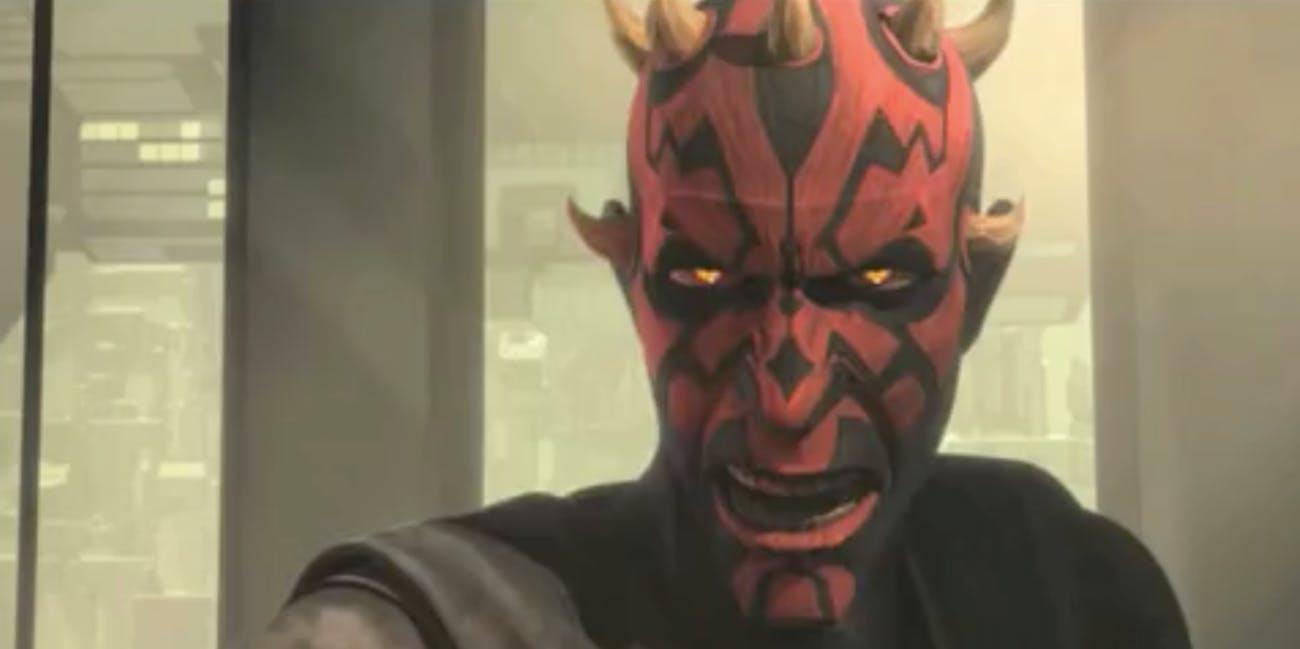Darth Maul in The Clone Wars season 7